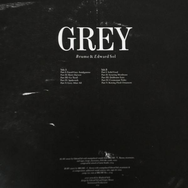 Brume Edward Sol – Grey вініл Київ